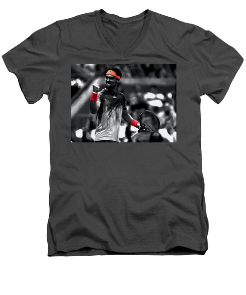 Fabio Fognini Men's V-Neck T-Shirt