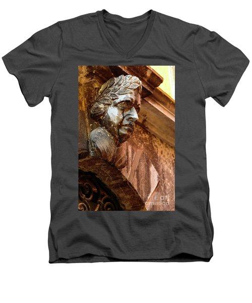 Face In The Streets - Rovinj, Croatia Men's V-Neck T-Shirt