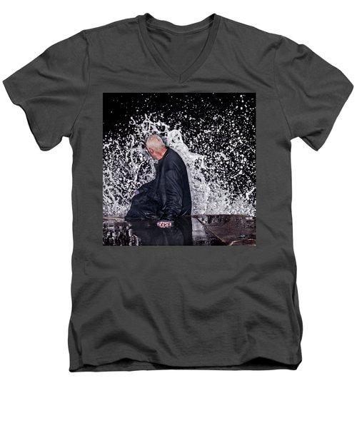 Face It Men's V-Neck T-Shirt