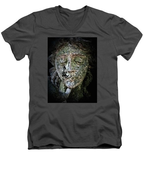 Face Of An Angel 11 Men's V-Neck T-Shirt by Maria Huntley