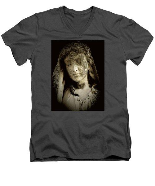 Face Of An Angel 9 Men's V-Neck T-Shirt
