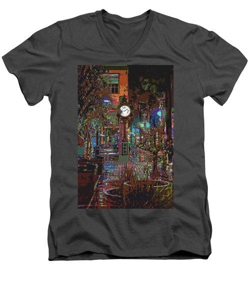 Face Of Color Men's V-Neck T-Shirt