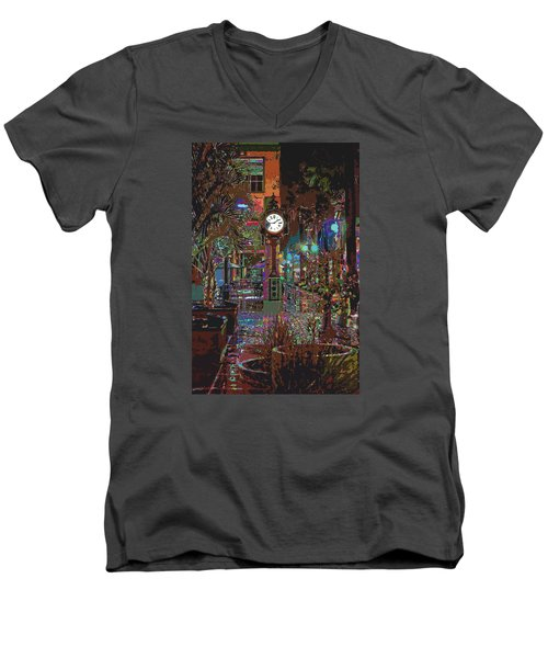 Face Of Color Men's V-Neck T-Shirt