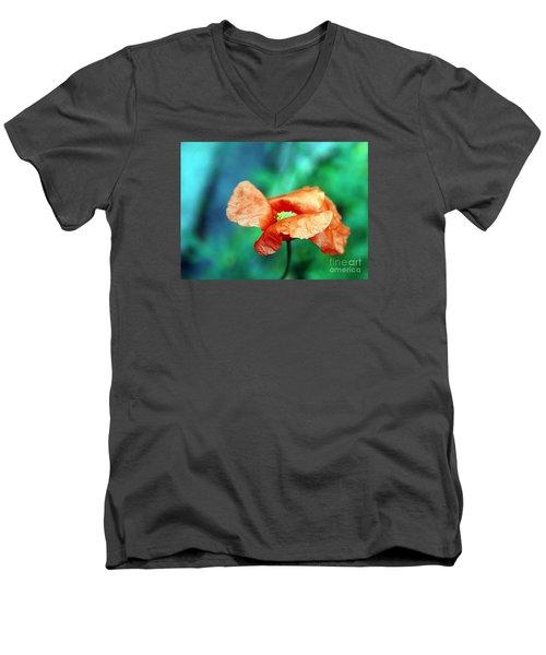 Face Of Love Men's V-Neck T-Shirt