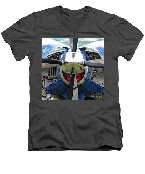 Faces Of Oshkosh 2012. #03 Men's V-Neck T-Shirt
