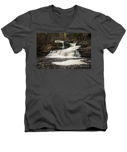 Factory Falls Men's V-Neck T-Shirt