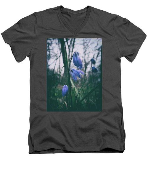 Fade Into The Blue Men's V-Neck T-Shirt