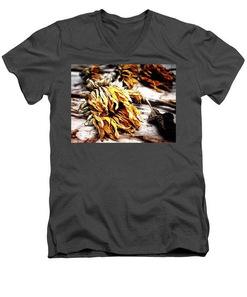 Faded Away Men's V-Neck T-Shirt