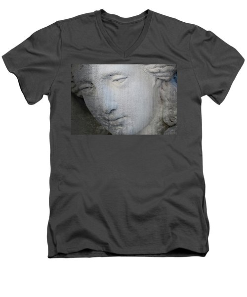 Faded Statue Men's V-Neck T-Shirt