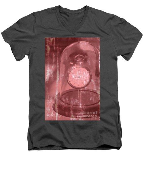 Faded Time Men's V-Neck T-Shirt