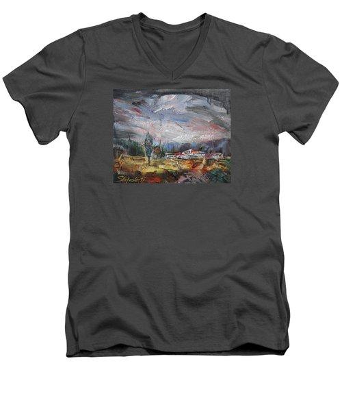 Fading Day IIi Men's V-Neck T-Shirt