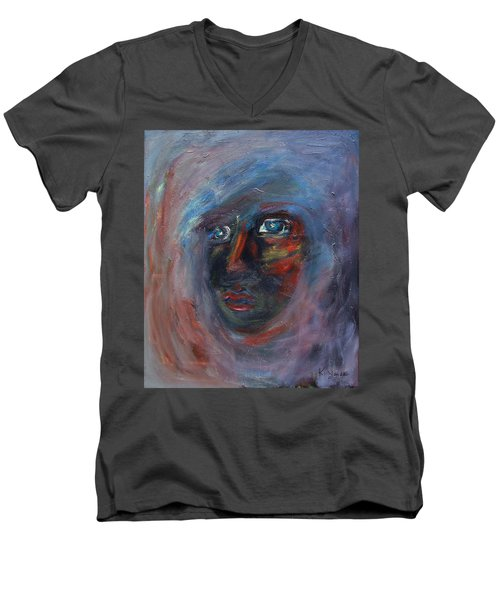 Fading Slowly Men's V-Neck T-Shirt