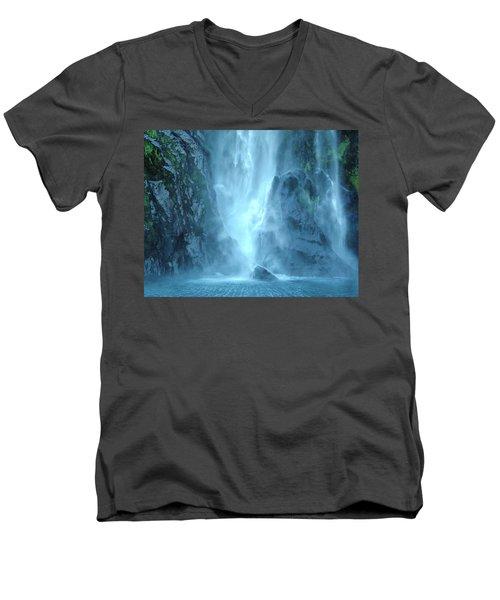Faerie Falls Men's V-Neck T-Shirt