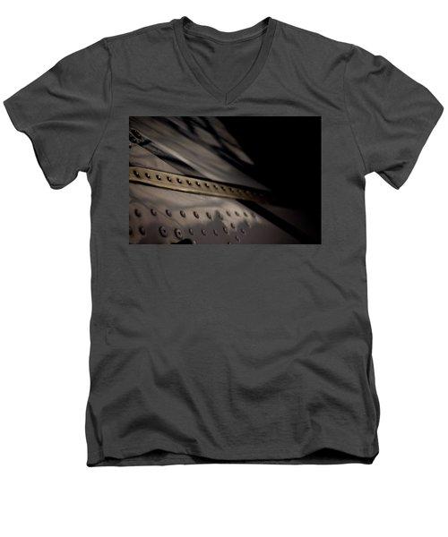 Men's V-Neck T-Shirt featuring the photograph Faiding Away by Paul Job