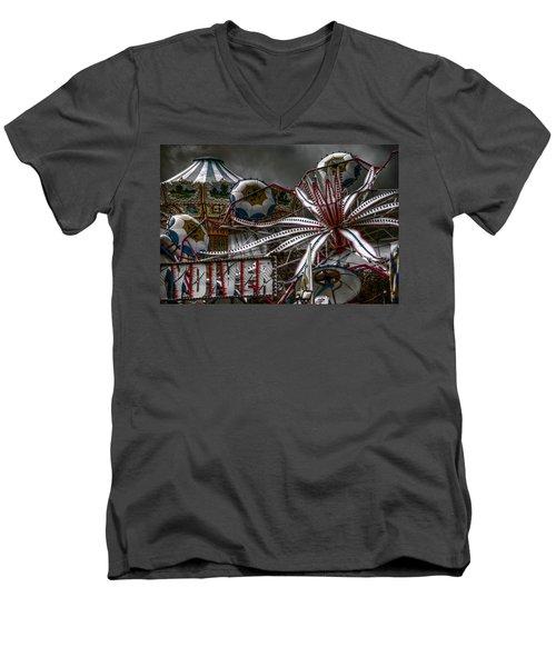 Fairground Rides Men's V-Neck T-Shirt