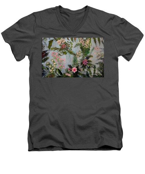 Fairies Garden Men's V-Neck T-Shirt