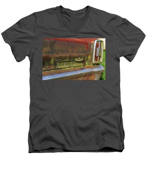 Fairlane Emblem Men's V-Neck T-Shirt