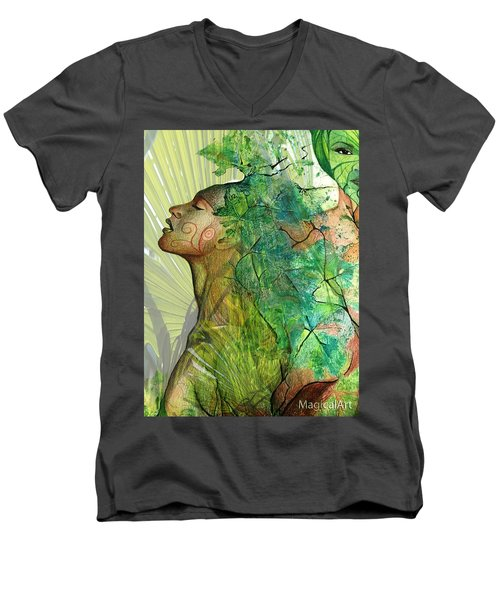 Fairy Men's V-Neck T-Shirt
