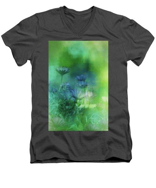 Fairy Garden Men's V-Neck T-Shirt