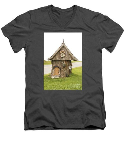 Fairy House In Vermont Men's V-Neck T-Shirt