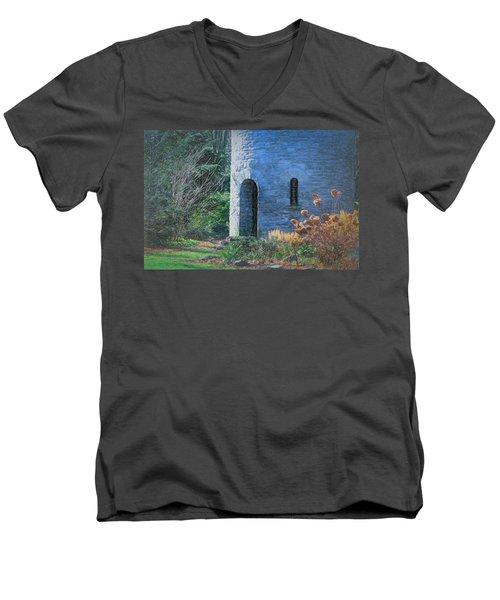 Fairy Tale Tower Men's V-Neck T-Shirt