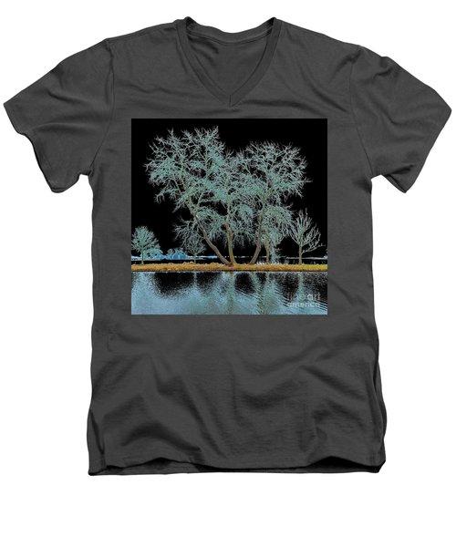 Fairy Tree-1 Men's V-Neck T-Shirt