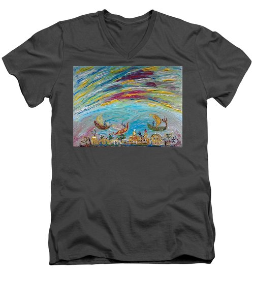 Fairyland Men's V-Neck T-Shirt