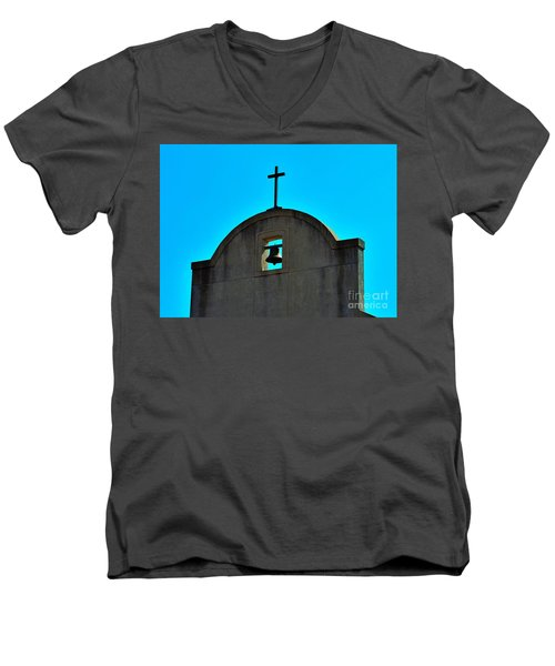Men's V-Neck T-Shirt featuring the photograph Faith by Ray Shrewsberry