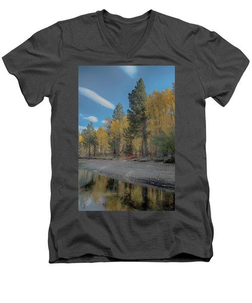 Fall Break Men's V-Neck T-Shirt
