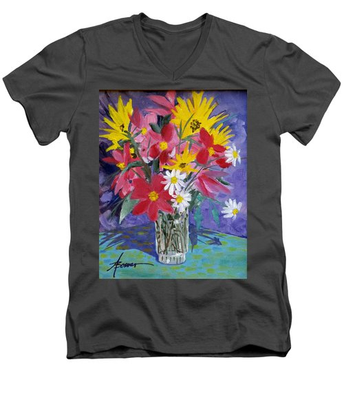 Fall Collection  Men's V-Neck T-Shirt
