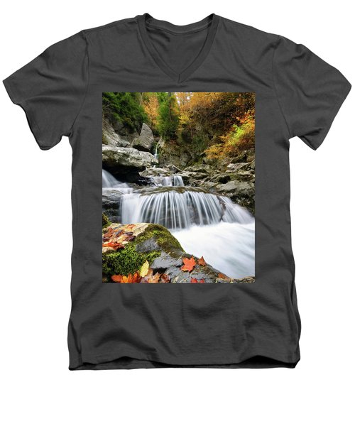Fall Color Bash Men's V-Neck T-Shirt