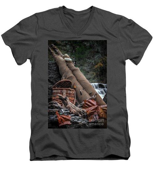 Fall Creation Men's V-Neck T-Shirt