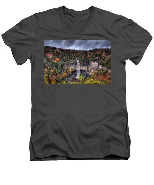 Fall Creek Falls Men's V-Neck T-Shirt
