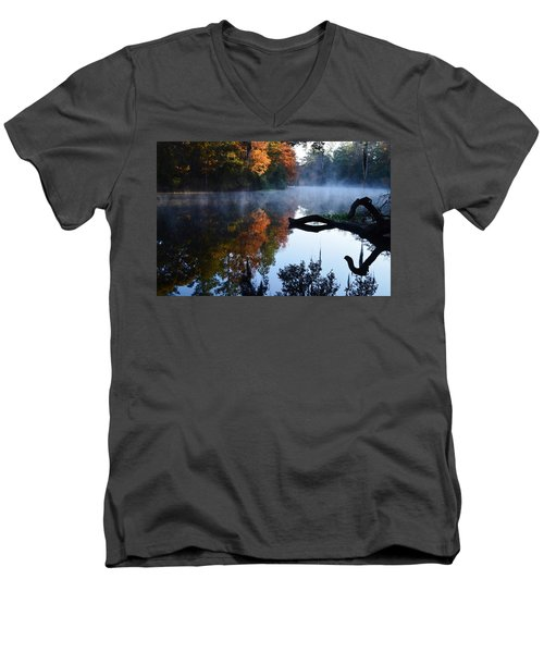 Fall Fog Men's V-Neck T-Shirt