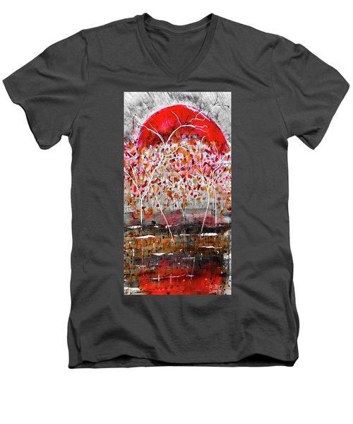 Fall-iage V2.0 Men's V-Neck T-Shirt