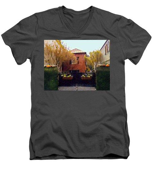 Fall Into Charleston Men's V-Neck T-Shirt