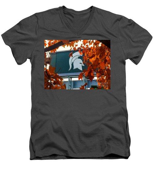 Fall Is Football Men's V-Neck T-Shirt