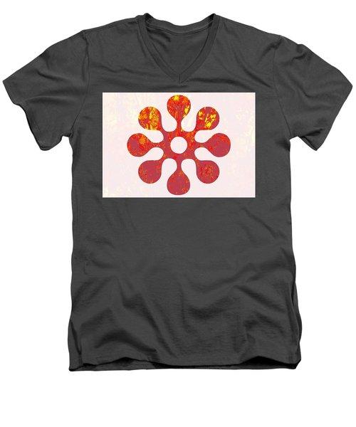 Fall Leaves #11 Men's V-Neck T-Shirt