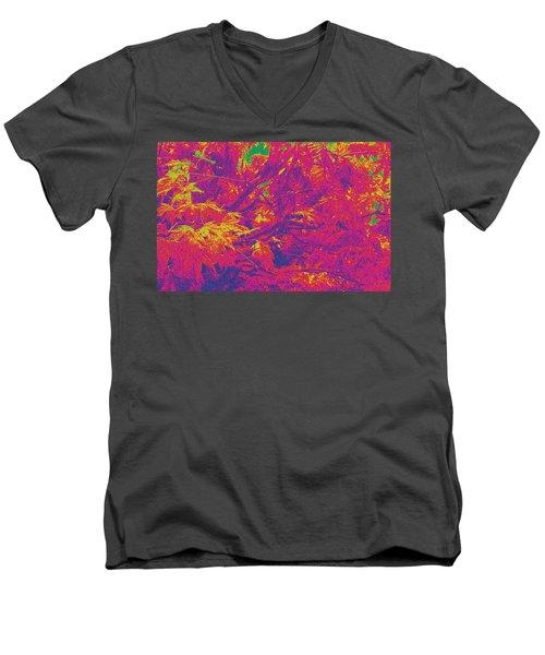 Fall Leaves #14 Men's V-Neck T-Shirt