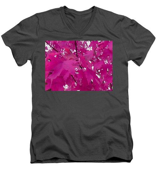 Fall Leaves #5 Men's V-Neck T-Shirt