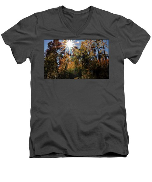 Fall Mt. Lemmon 2017 Men's V-Neck T-Shirt