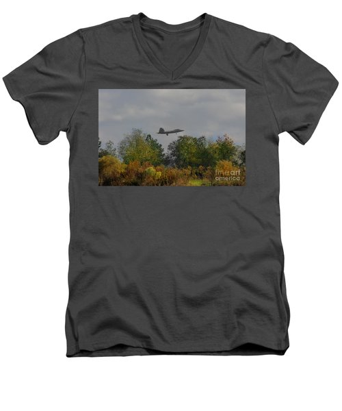 Fall Raptor Men's V-Neck T-Shirt