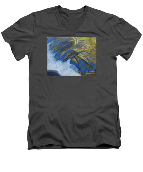 Fall Reflections II Men's V-Neck T-Shirt by Anne Marie Brown