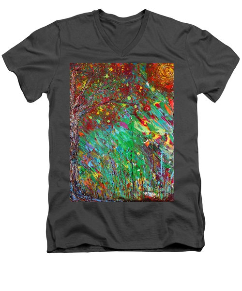 Fall Revival Men's V-Neck T-Shirt