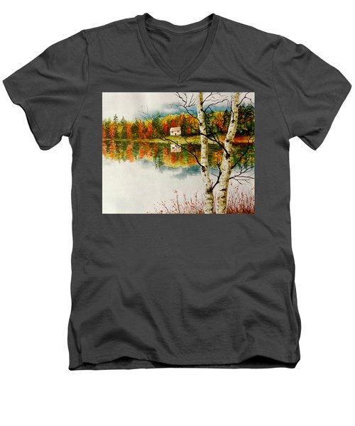 Fall Splendour Men's V-Neck T-Shirt
