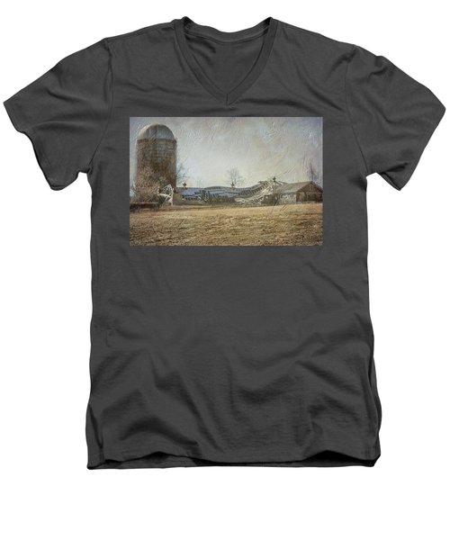 Fallen Barn  Men's V-Neck T-Shirt