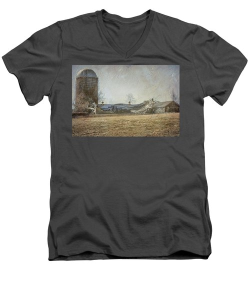 Fallen Barn  Men's V-Neck T-Shirt