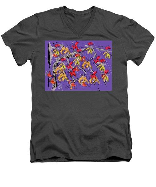 Fallen In Love Men's V-Neck T-Shirt