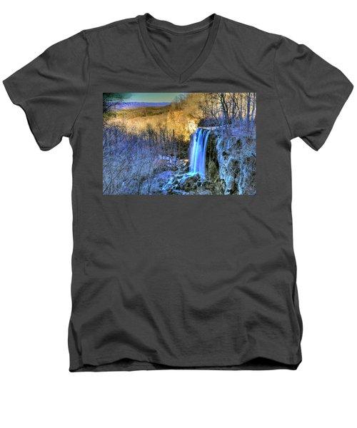 Falling Spring Falls Men's V-Neck T-Shirt