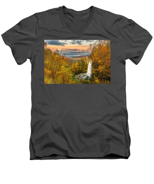 Falling Spring Falls Men's V-Neck T-Shirt